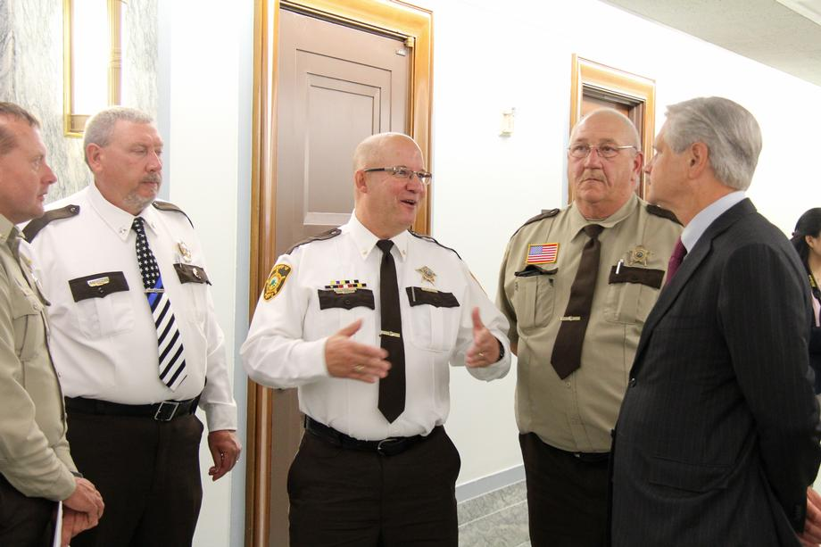 September 2019 - Senator Hoeven meeting with ND sheriffs in D.C.