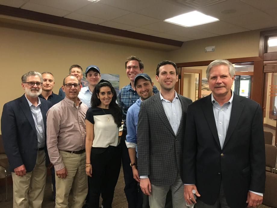 June 2019 - Senator Hoeven meeting with the Council for Secure America.
