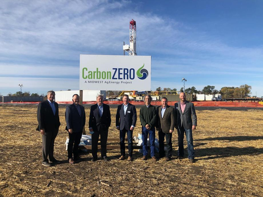 October 2020 - Senator Hoeven helped kick off Midwest AgEnergy's (MAG) Carbon Zero Initiative and marked the groundbreaking of a CO2 capture well.