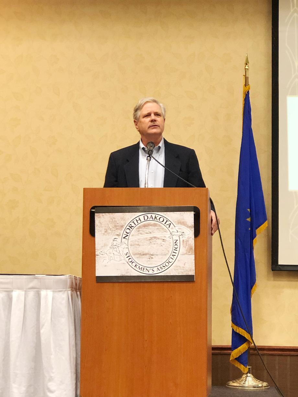 October 2020 - Senator Hoeven addresses the North Dakota Stockmen's Association annual convention.